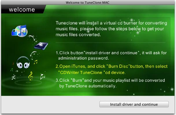 M4p to MP3 - TuneClone Screenshot