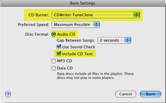 Convert iTunes Music to MP3 on Mac